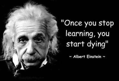 Absorb Einstein's brilliance.